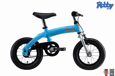 Велобалансир+велосипед Hobby-bike RT original blue aluminium